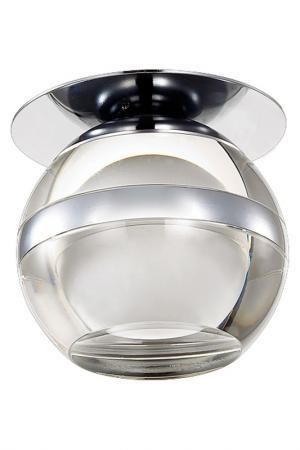 Светодиодный светильник NOVOTECH. Цвет: хром