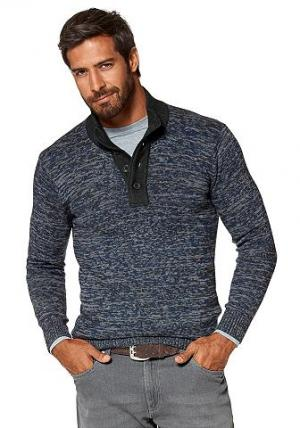 Пуловер GREY CONNECTION. Цвет: синий/меланжевый