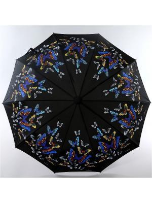 Зонт Zest. Цвет: черный, желтый, темно-синий