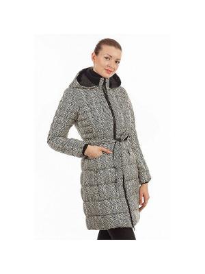 Пальто женское DEFREEZE. Цвет: серый