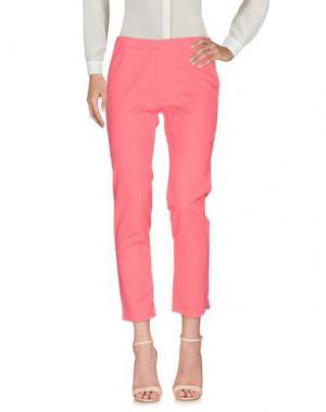 Повседневные брюки KORALLINE. Цвет: фуксия