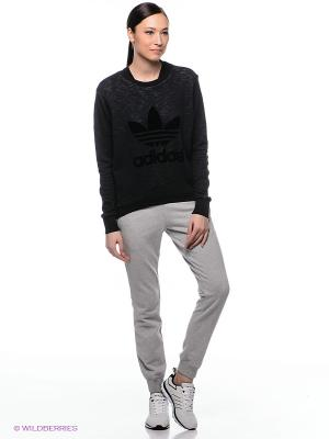 Брюки ESS CUFFED PANT Adidas. Цвет: серый
