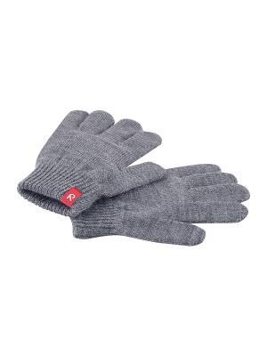 Перчатки Reima. Цвет: серый, темно-серый