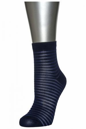 Носки женские ASKOMI. Цвет: синий