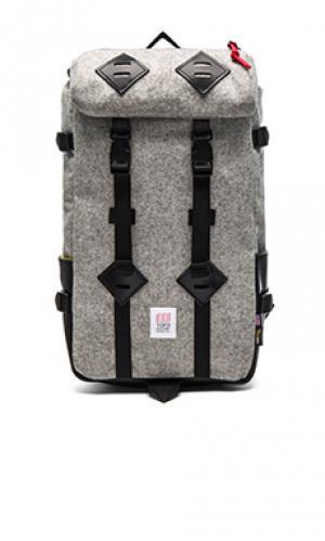 Рюкзак klettersack TOPO DESIGNS. Цвет: серый