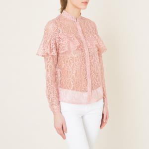 Рубашка из кружева SISTER JANE. Цвет: розовый