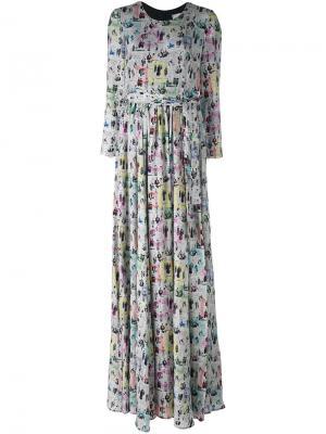 Платье Frames Ultràchic. Цвет: серый