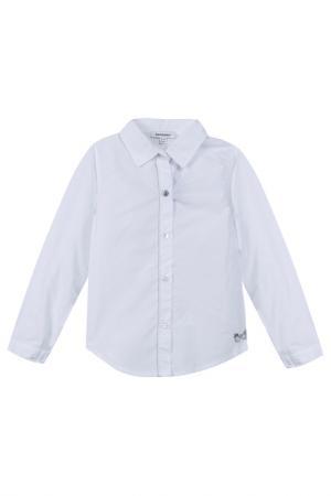 Блузка 3POMMES. Цвет: white