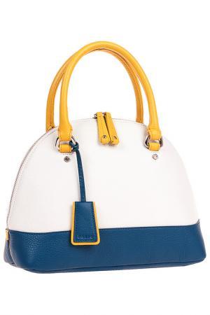 Сумка Palio. Цвет: белый, желтый, синий