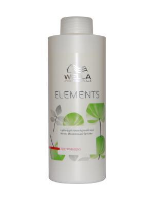 Wella Professionals Elements - Лёгкий обновляющий бальзам 1000 мл Professional. Цвет: белый