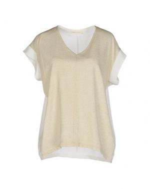 Блузка MONICA •LENDINEZ. Цвет: бежевый