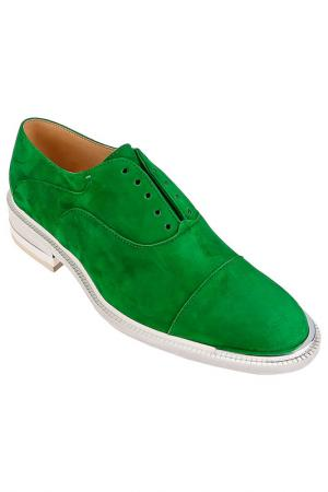 Туфли Barbara Bui. Цвет: зеленый