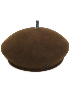 Берет New Bonnie Maison Michel. Цвет: коричневый