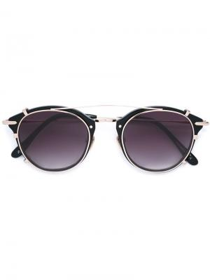 Солнцезащитные очки Pocket Piece Frency & Mercury. Цвет: чёрный
