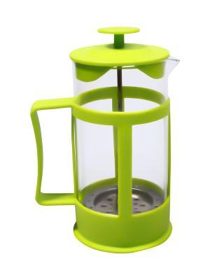 Чайник заварочный/Френчпресс,  0,35 л. Migura. Цвет: салатовый
