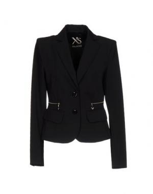 Пиджак X'S MILANO. Цвет: черный