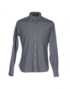 Pубашка DANOLIS per SCAGLIONE CITY. Цвет: свинцово-серый