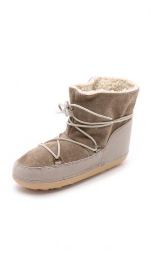 Зимние горные ботинки Anniel. Цвет: бежевый