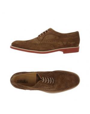 Обувь на шнурках SEBASTIAN. Цвет: коричневый