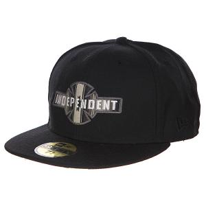 Бейсболка New Era  Eg/Bc Fitted Black Independent. Цвет: черный