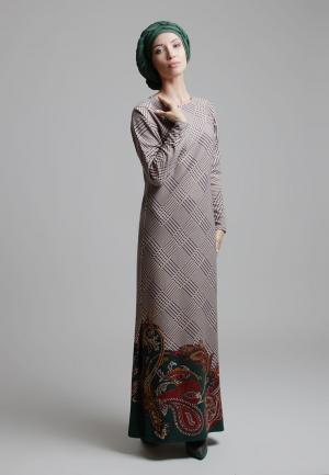 Платье Bella Kareema. Цвет: разноцветный