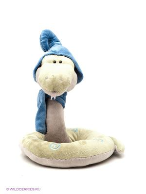 Игрушка змей Луи 30см ORANGE. Цвет: салатовый, голубой