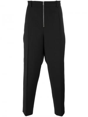 Классические брюки с молнией 3.1 Phillip Lim. Цвет: чёрный