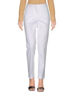 Повседневные брюки CEDRIC CHARLIER. Цвет: белый