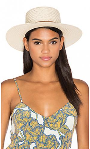 Шляпа lexa KIN/K. Цвет: кремовый