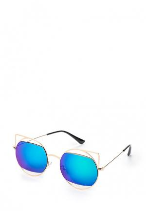 Очки солнцезащитные Befree. Цвет: золотой
