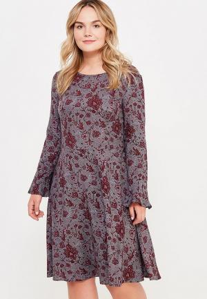 Платье Pettli Collection. Цвет: серый