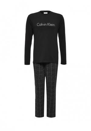Пижама Calvin Klein Underwear. Цвет: черный