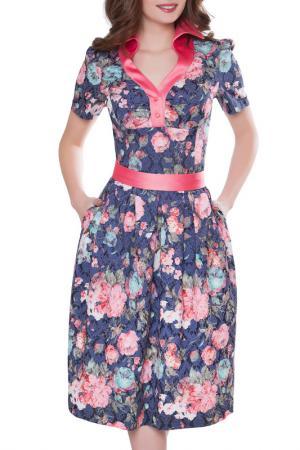 Платье Olivegrey. Цвет: антрацитовый