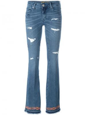 Слегка расклешенные джинсы  Daisy Dont Cry Don't. Цвет: синий