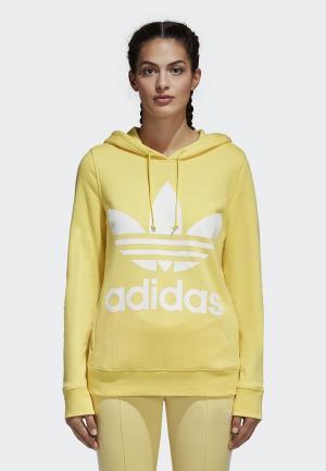 Худи adidas Originals. Цвет: желтый