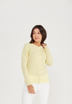 Кардиган United Colors of Benetton. Цвет: желтый