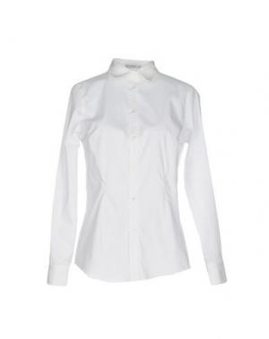 Pубашка JEANS & POLO. Цвет: белый
