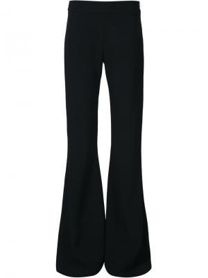 Расклешенные брюки Brandon Maxwell. Цвет: чёрный