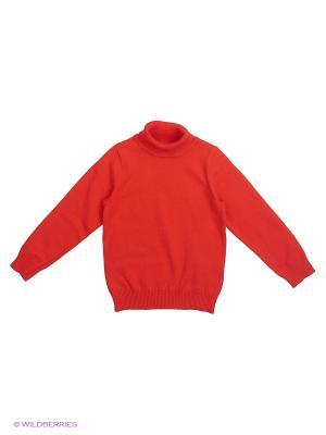 Свитер Modis. Цвет: оранжевый, красный