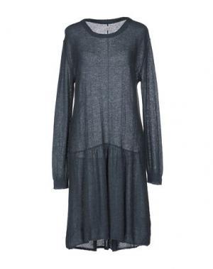 Платье до колена POMANDÈRE. Цвет: грифельно-синий