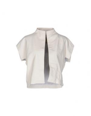 Куртка VINTAGE DE LUXE. Цвет: белый