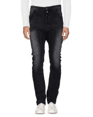 Джинсовые брюки HUMÖR. Цвет: черный