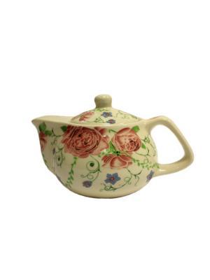 Чайник заварочный Aroma-Garden. Цвет: розовый, белый