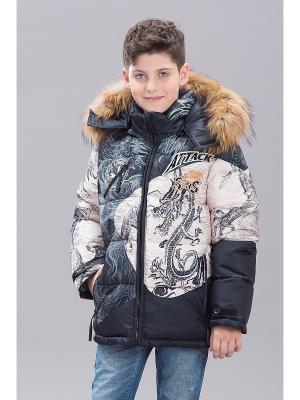 Куртка Bilemi. Цвет: бежевый