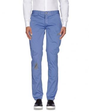 Повседневные брюки MAMUUT. Цвет: синий