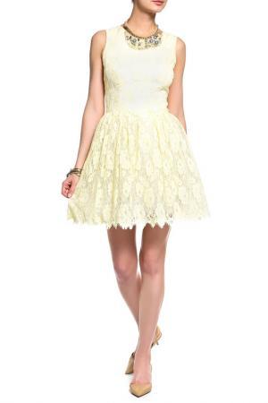 Платье Loyd Ford. Цвет: желтый