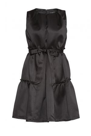 Платье из вискозы и искусственного шелка 178586 Cavo. Цвет: черный