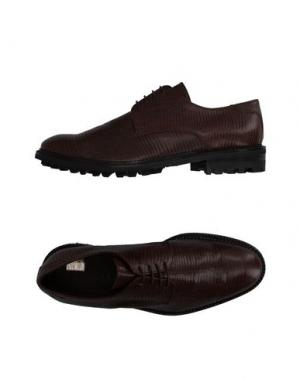 Обувь на шнурках SIMONE MARIOTTI. Цвет: какао
