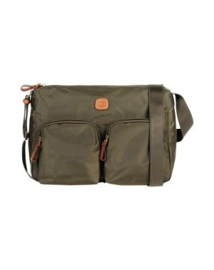 Деловые сумки BRIC'S. Цвет: темно-зеленый