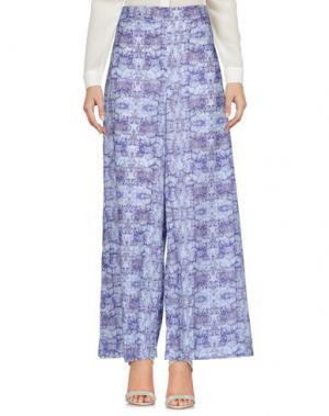 Повседневные брюки PYAAR. Цвет: небесно-голубой